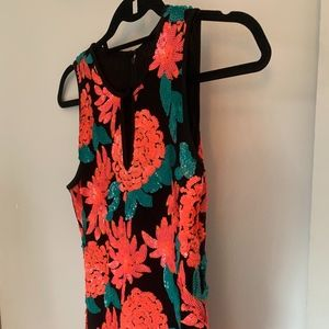 Greylin Tropical Formal Cocktail Dress Size Small